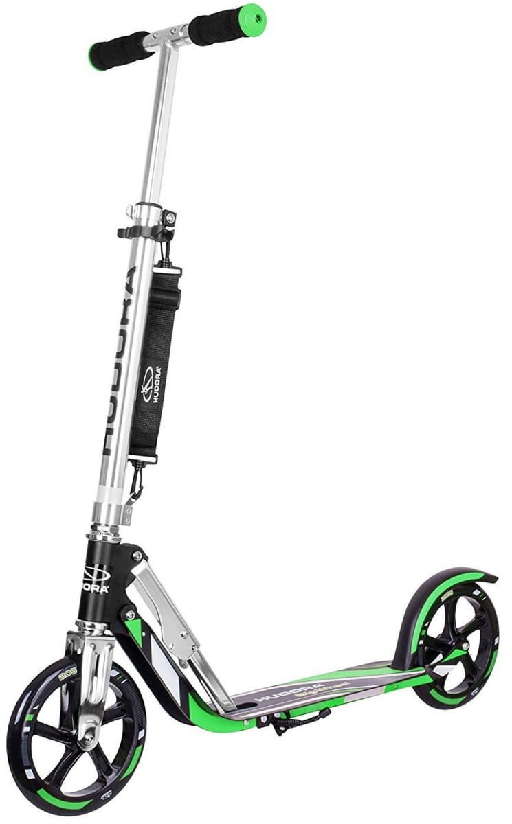 Самокат HUDORA Big Wheel RX-Pro 205 - black-green
