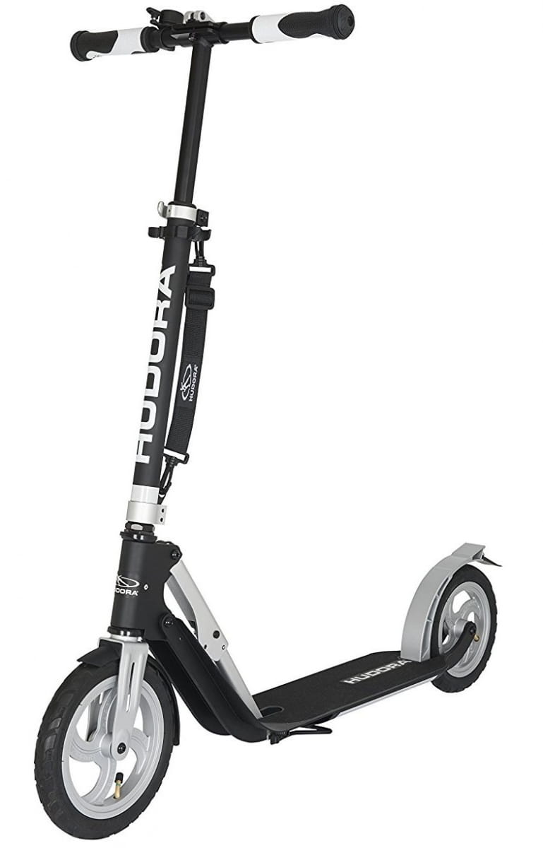 Самокат HUDORA Big Wheel Air 230 - черный