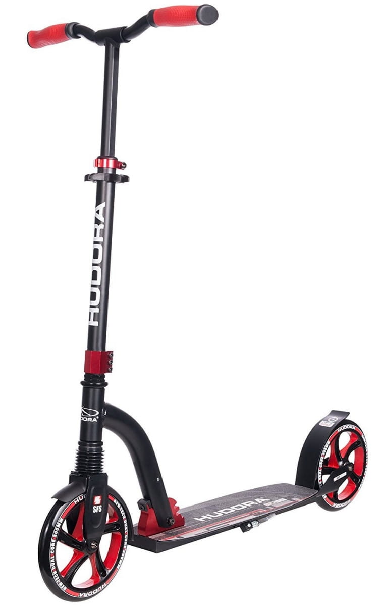 Самокат HUDORA Big Wheel Flex 200 - red
