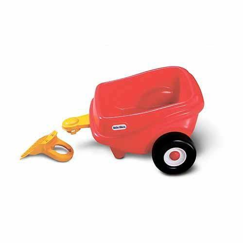 Купить Прицеп для каталки Little Tikes красный в интернет магазине игрушек и детских товаров