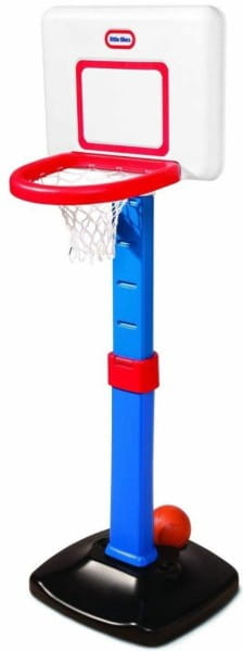 Купить Раздвижной баскетбольный щит Little Tikes 60-120 см в интернет магазине игрушек и детских товаров