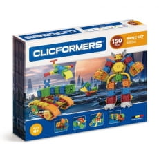 Конструктор Clicformers Basic Set - 150 деталей