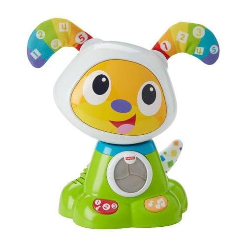 Интерактивный щенок робота Бибо FISHER PRICE (Mattel) - Обучающие интерактивные игрушки