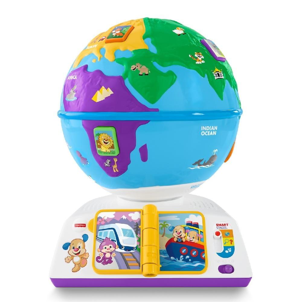 Обучающий глобус FISHER PRICE Смейся и учись (Mattel) - Обучающие интерактивные игрушки