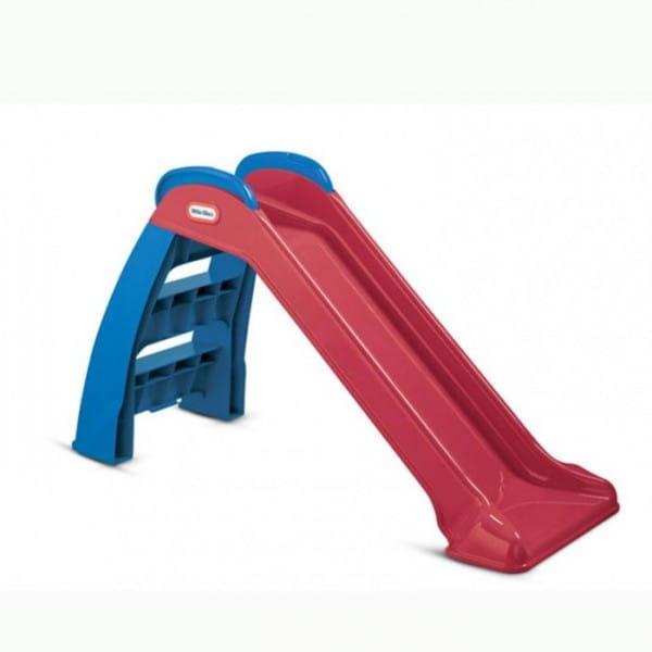 Купить Горка складная Little Tikes (сине-бордовая) в интернет магазине игрушек и детских товаров