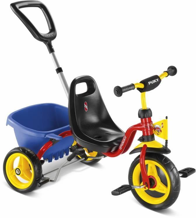 Трехколесный велосипед PUKY Cat 1S Red - красный