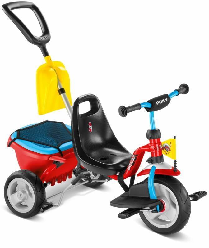 Трехколесный велосипед PUKY Cat 1SP - красный-голубой