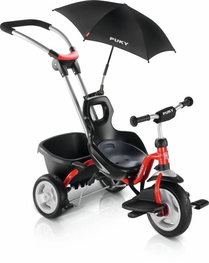 Трехколесный велосипед PUKY Cat S2 Ceety Red - красный