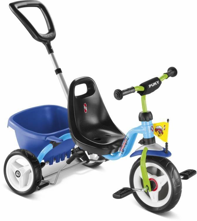 Трехколесный велосипед PUKY Cat 1S - голубой-киви