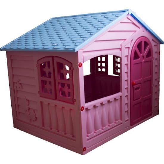 Игровой домик PALPLAY Цветы - розовый, голубой (Marian Plast)