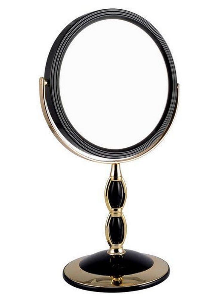 Косметическое зеркало WEISEN 53275 Black - Косметические зеркала