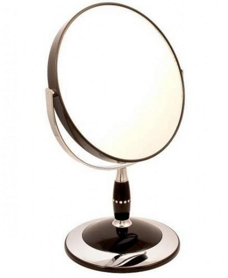 Косметическое зеркало WEISEN 53287 Black - Косметические зеркала