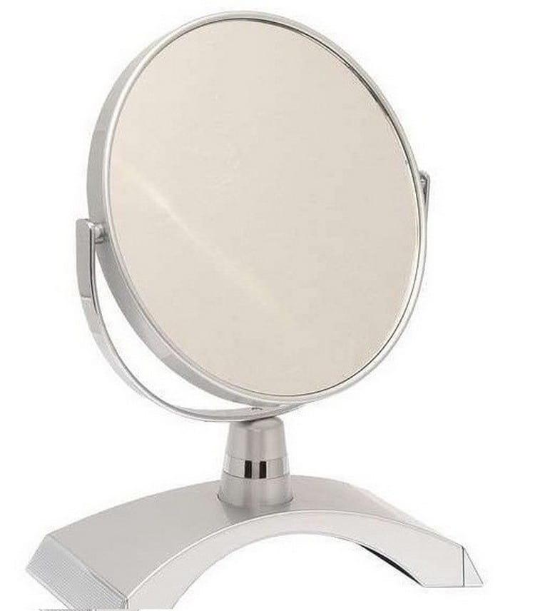 Косметическое зеркало WEISEN 53261 Silver - Косметические зеркала