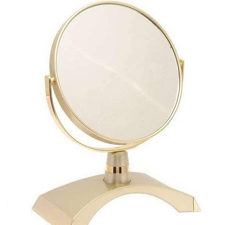 Косметическое зеркало WEISEN 53262 Gold - Косметические зеркала