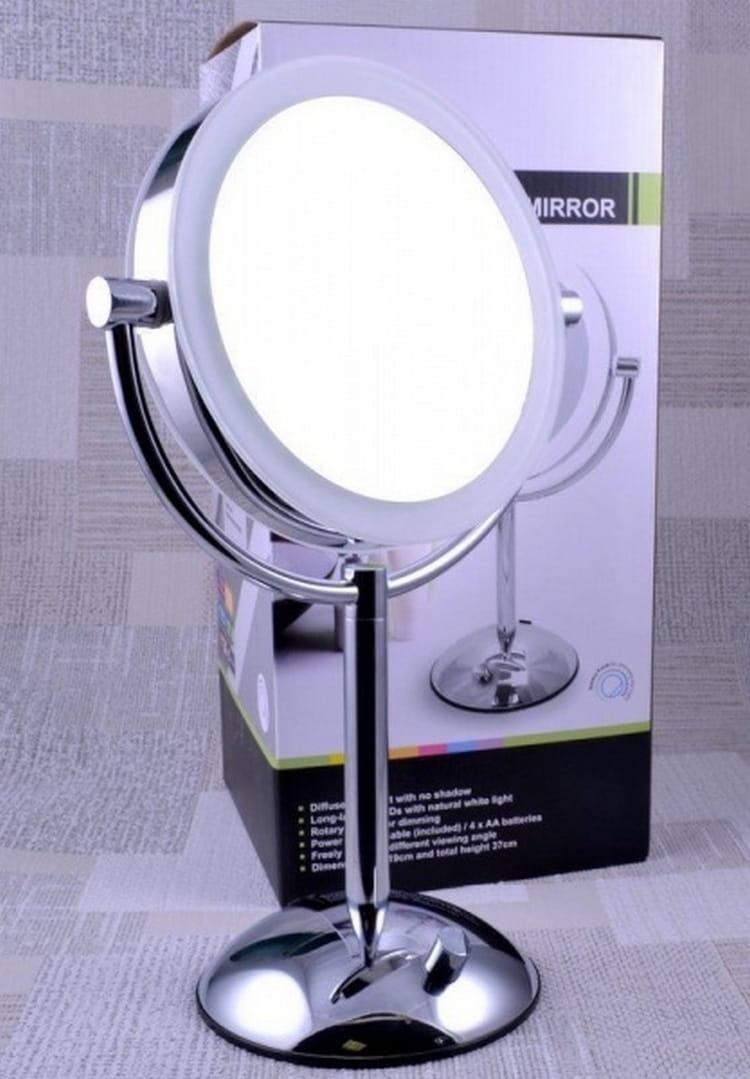 Косметическое зеркало WEISEN 10358 ED19T51CH-SCL - Косметические зеркала