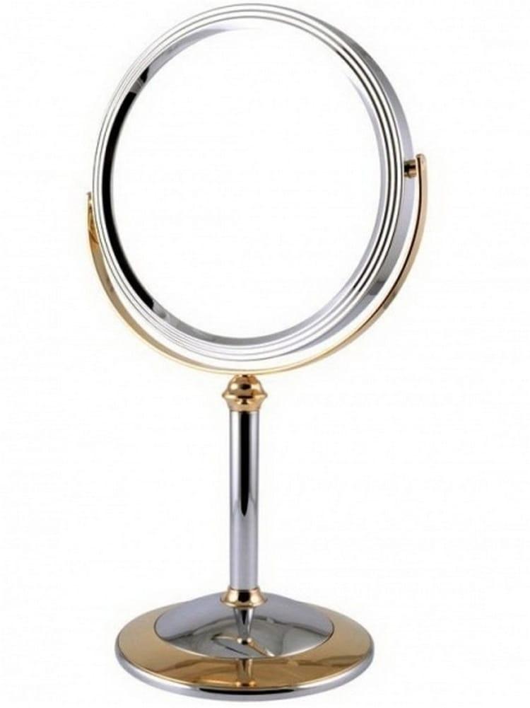 Косметическое зеркало WEISEN 53842 Chrome-Gold - Косметические зеркала