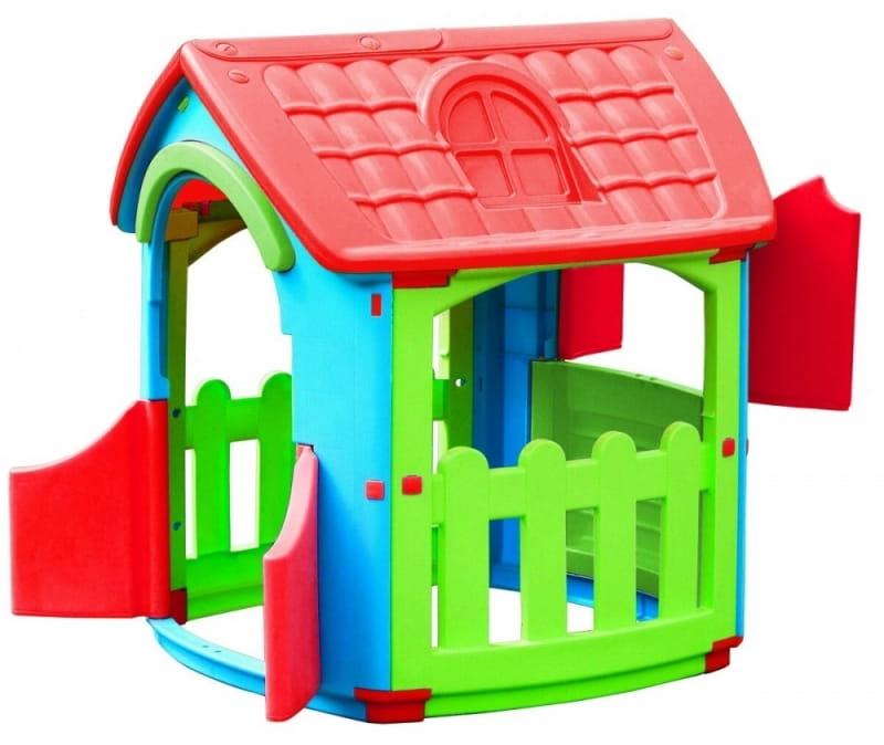 Игровой домик PALPLAY со светом и звуком  голубой, красный, салатовый (Marian Plast) - Игровые домики и палатки