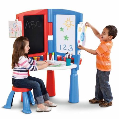 Купить Центр юного художника Little Tikes (стенд, стол, стул) в интернет магазине игрушек и детских товаров