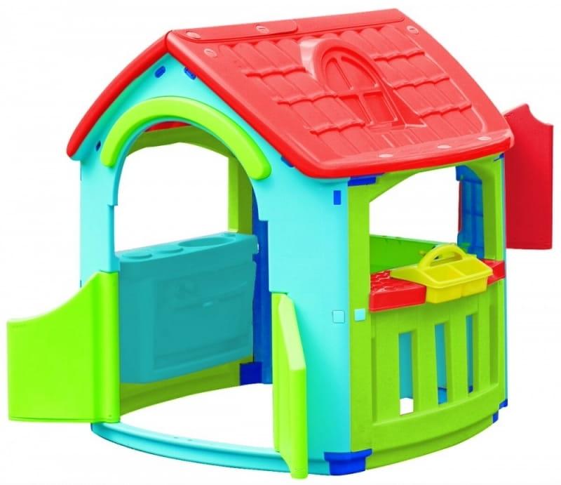 Игровой домик PALPLAY Кухня Мастерская со светом и звуком  голубой, зеленый, красный (Marian Plast) - Игровые домики и палатки