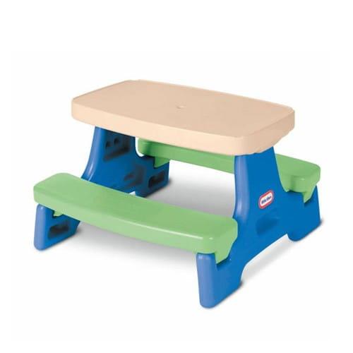 Купить Стол Little Tikes с двумя скамейками в интернет магазине игрушек и детских товаров