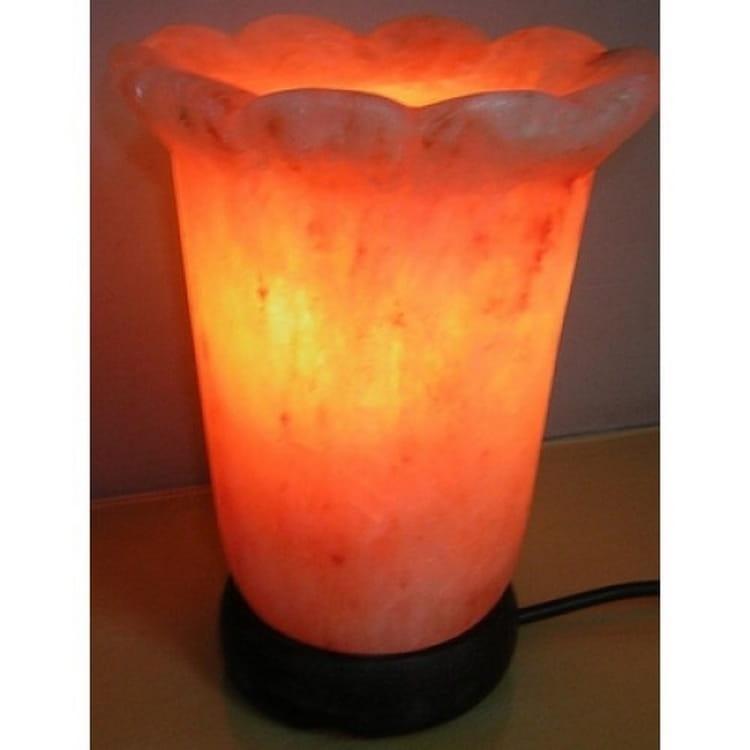 Солевая лампа SALT VISION Каменный цветок - Будильники и лампы