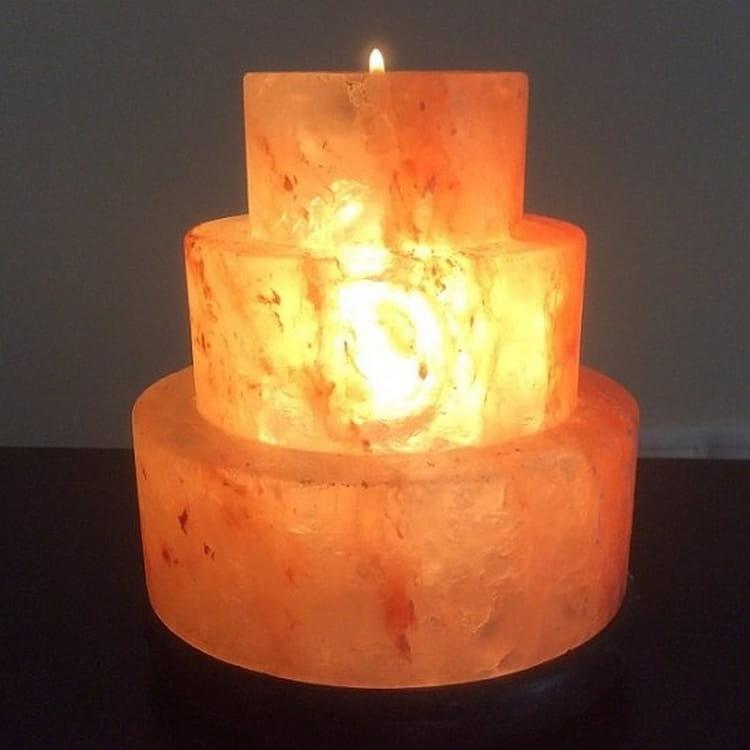 Солевая лампа SALT VISION Прометей - Будильники и лампы