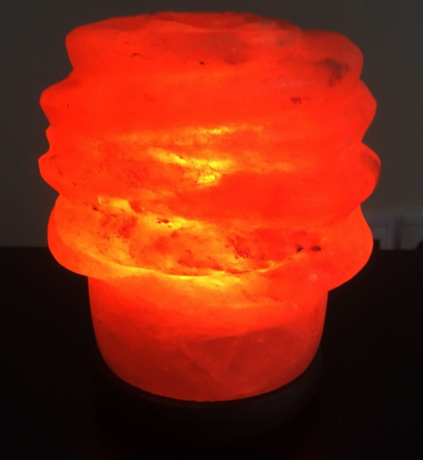 Солевая лампа SALT VISION Цветок Каркаде - Будильники и лампы