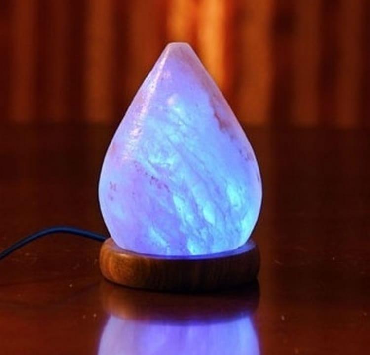 Солевая лампа ДОМ ВЕЛЕСА Капля (с USB) - Будильники и лампы