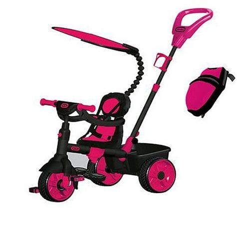 Купить Детский трехколесный велосипед Little Tikes 4 в 1 - розовый 2 в интернет магазине игрушек и детских товаров