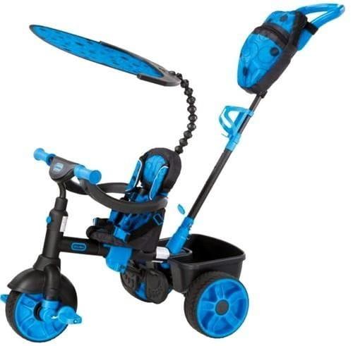 Детский трехколесный велосипед Little Tikes 4 в 1 - синий 2