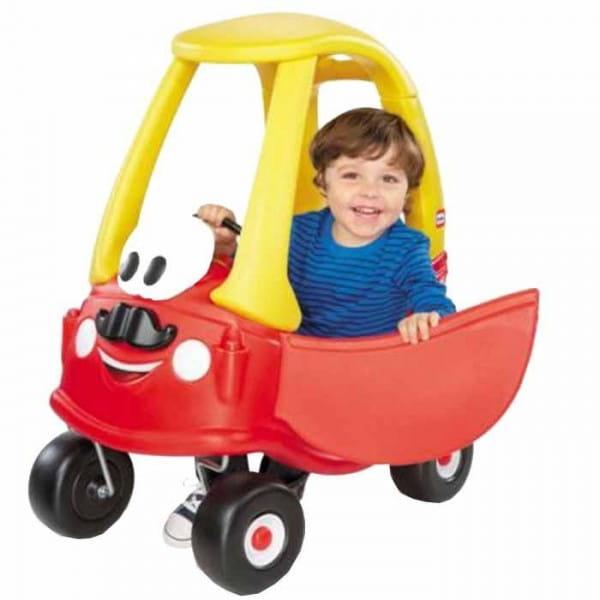 Купить Каталка Little Tikes Машина красная в интернет магазине игрушек и детских товаров