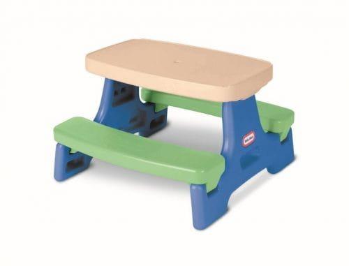 Купить СтолLittle Tikes с двумя скамейками 2 в интернет магазине игрушек и детских товаров