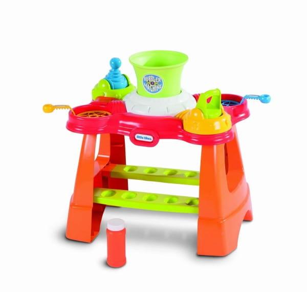 Купить Игровой стол Little Tikes для создания мыльных пузырей в интернет магазине игрушек и детских товаров