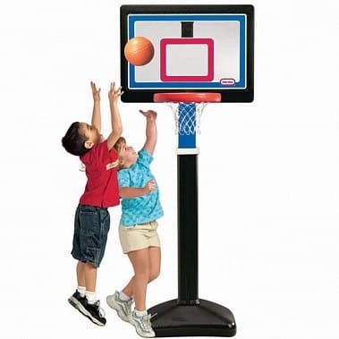 Купить Раздвижной баскетбольный щит Little Tikes 122-183 см в интернет магазине игрушек и детских товаров