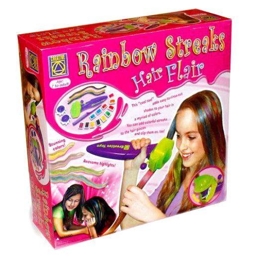 Купить Набор для творчества Creative Радуга в твоих волосах в интернет магазине игрушек и детских товаров