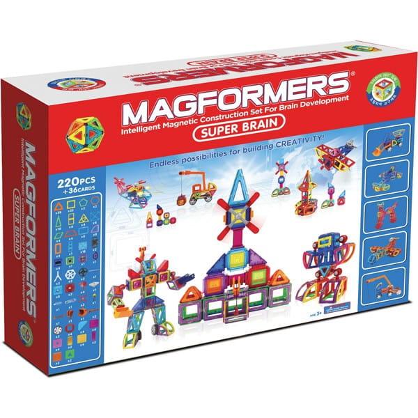 Конструктор Magformers 710004 (63088) Super Brain Set (220 деталей)