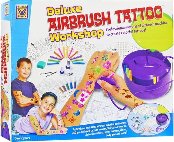 Купить Набор для творчества Creative Супер аэрограф для тату салона в интернет магазине игрушек и детских товаров