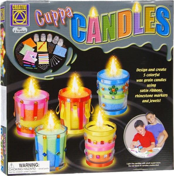 Купить Набор для творчества Creative Дизайнерские свечи Стаканчики в интернет магазине игрушек и детских товаров