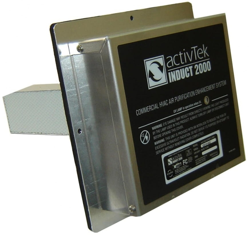 Воздухоочиститель ACTIVTEK Induct 2000 - Чистый воздух