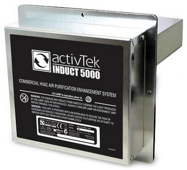 Воздухоочиститель ACTIVTEK Induct 5000 - Чистый воздух