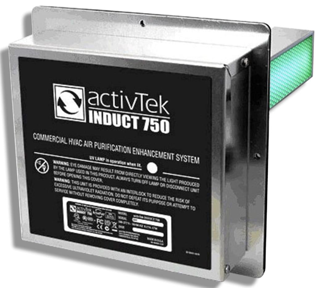 Воздухоочиститель ACTIVTEK Induct 750 - Чистый воздух