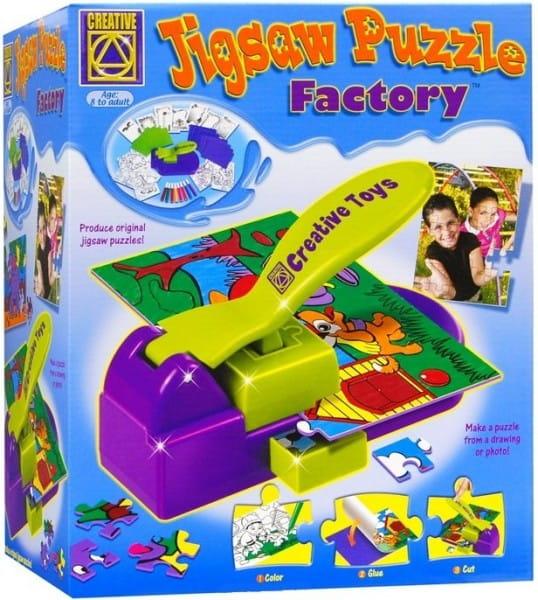 Купить Набор для творчества Creative Фабрика пазлов в интернет магазине игрушек и детских товаров