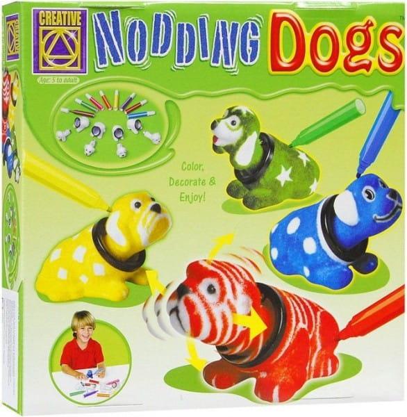 Набор для творчества Creative 5673 Разукрась кивающих собачек