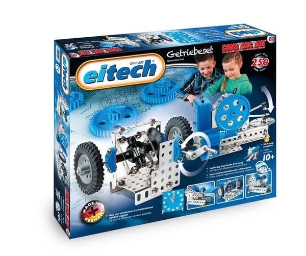 Металлический конструктор EITECH Механик  250 деталей - Металлические конструкторы