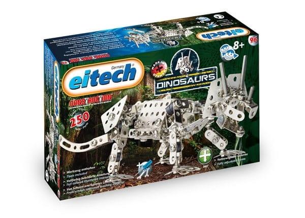 Металлический конструктор EITECH Трицератопс  250 деталей - Металлические конструкторы