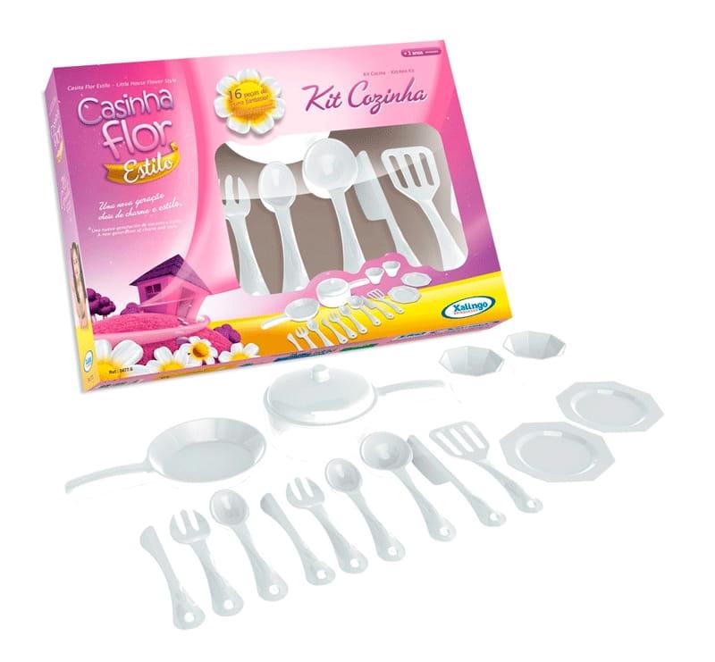 Игровой набор посуды XALINGO - Все для юной хозяйки