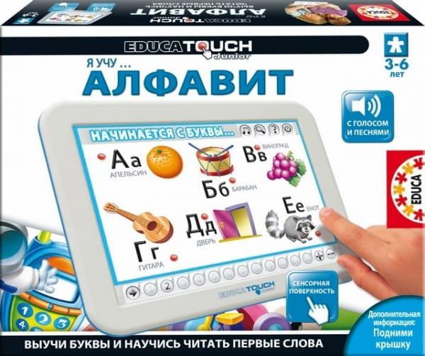 Купить Электронная игра Educa Touch Я учу алфавит в интернет магазине игрушек и детских товаров