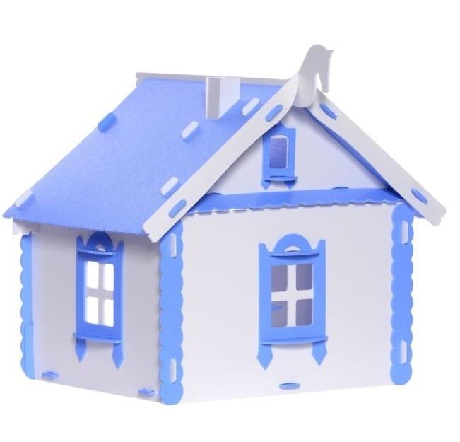 Кукольный домик деревенский KRASATOYS Маруся