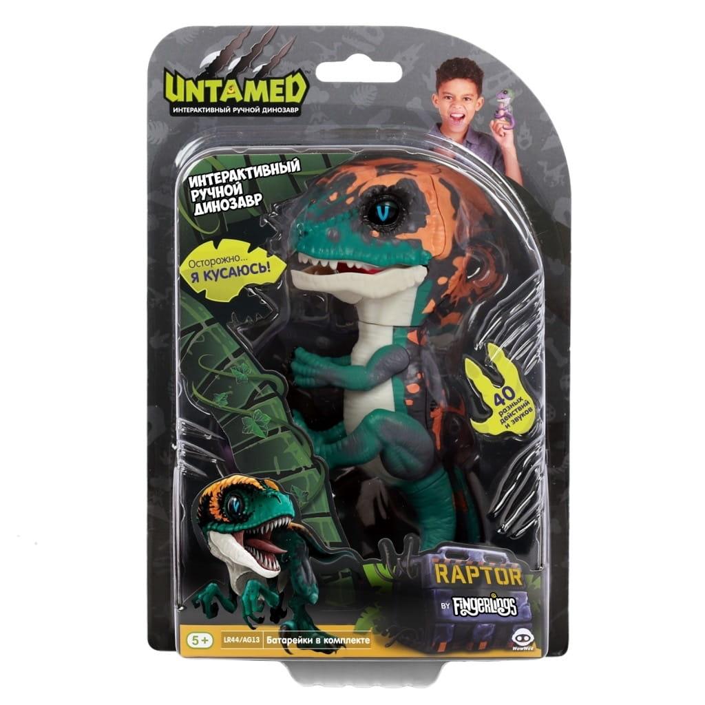 Интерактивный динозавр FINGERLINGS Untamed dino Фури - Интерактивные животные