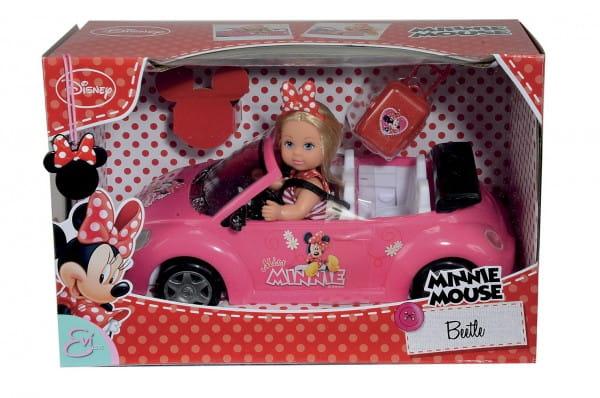 Игровой набор Evi Еви Minnie Mouse Кабриолет (Simba)
